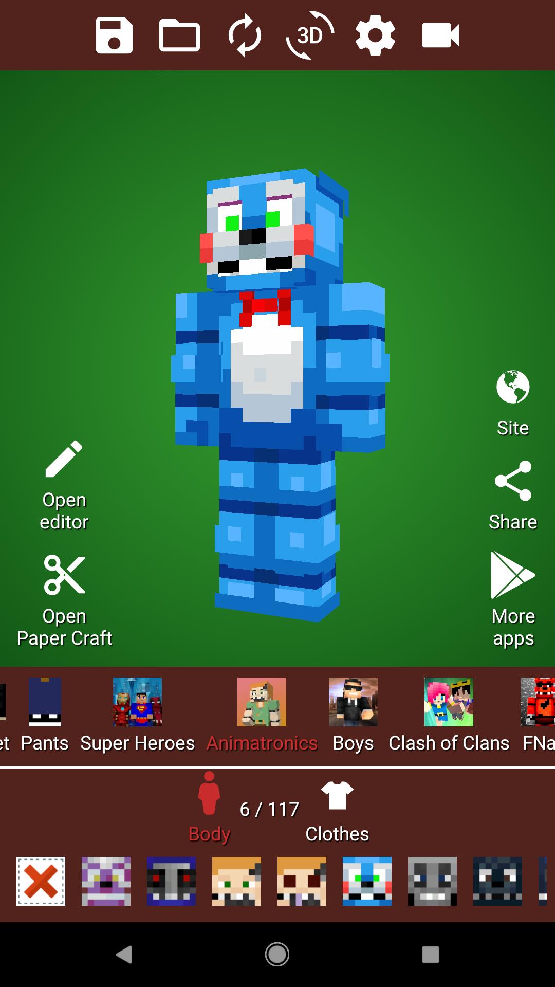 Minecrafter's Wardrobe – Minecraft Skins